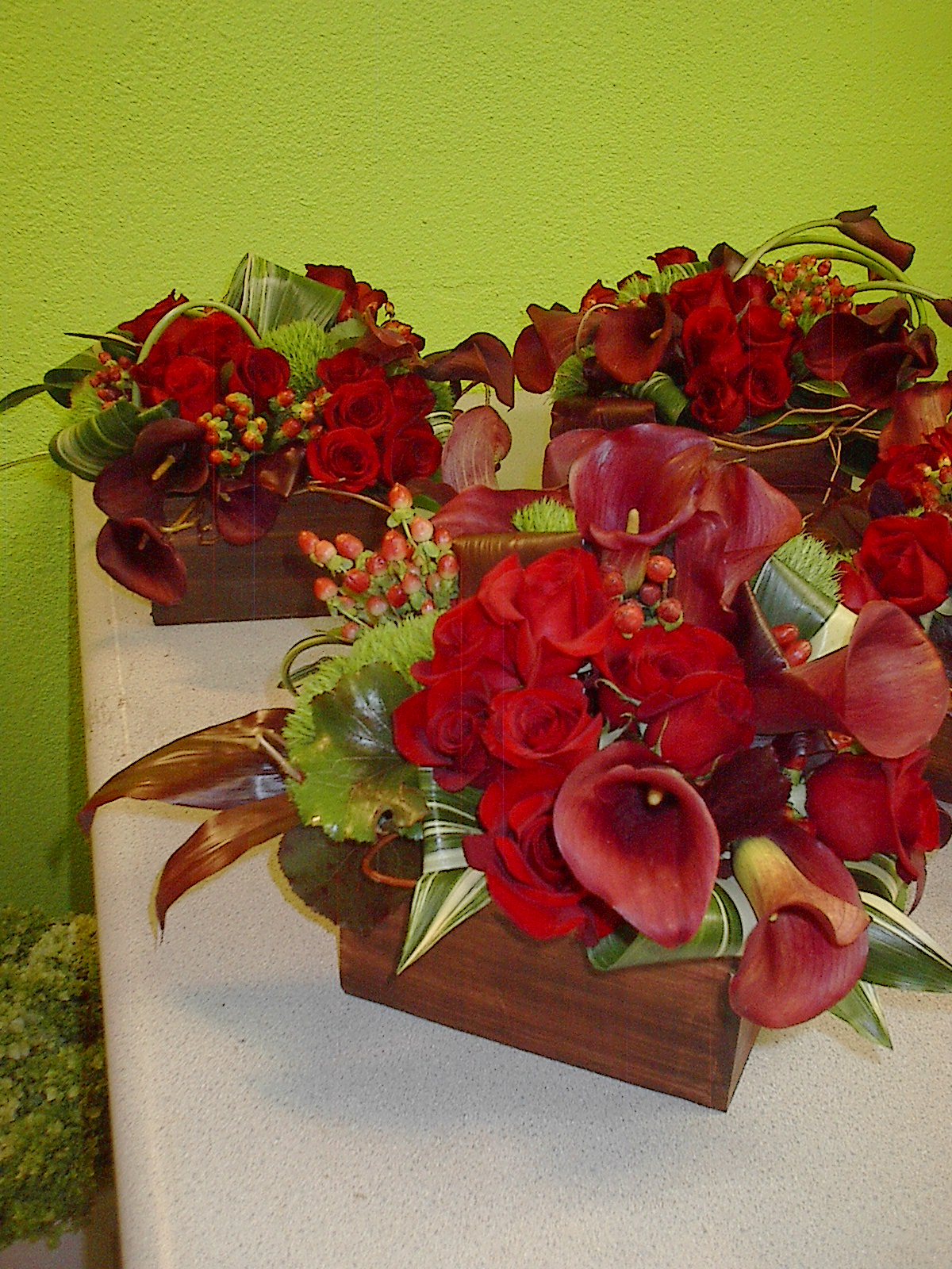 Convention flower centerpieces modern designs